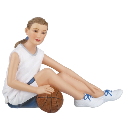 Resin Doll 3030 1//12 scale Houseworks figurine Anna girl basketball player