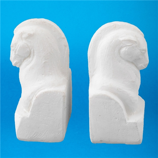 Bookends Horse Resin 4034 Dollhouse Miniature 1 12