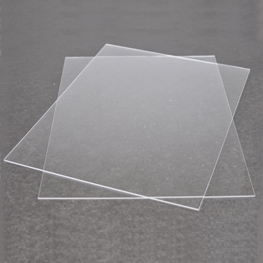 Plexi glass 2 sheets 9 x 12 plastic for dollhouse for Glass or acrylic